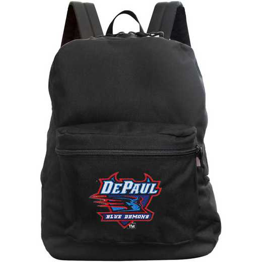 "CLDPL710-BLACK: 16"" Made in USA Premium Backpack"